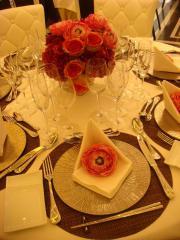 北新地 披露宴4-テーブルコーデ