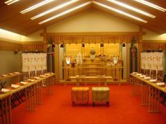 インター 神社