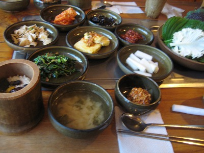 韓国で食べたもの