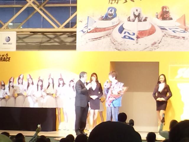 田村優勝表彰式2011大村