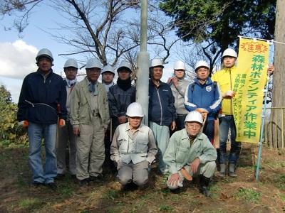 高安山森林整備