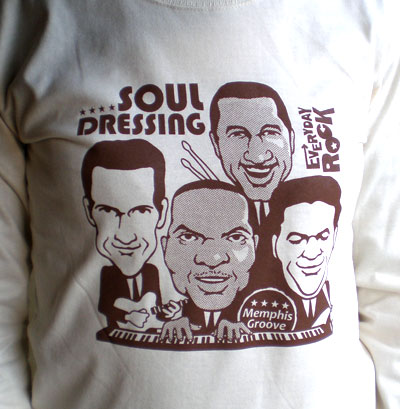 EverydayRock T Shirt booker T. & The Mg's caricature