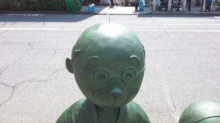 サザエさんの銅像
