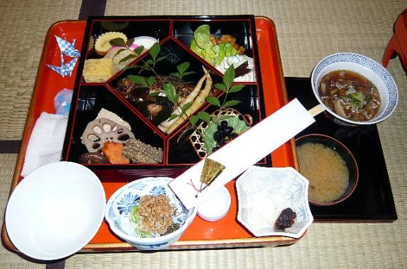 2008.01.01 鶴の湯 御節料理