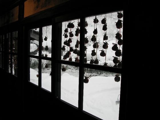 2008.01.01 鶴の湯 本陣 窓景色