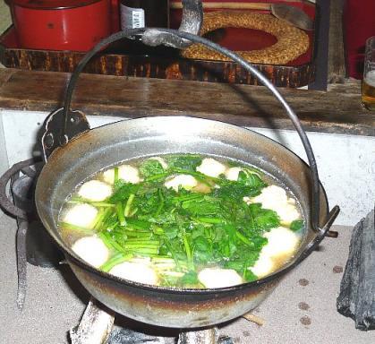 2007.12 鶴の湯 山の芋鍋