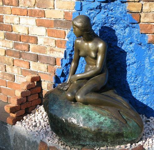2008.01.06 横浜 人魚姫の像