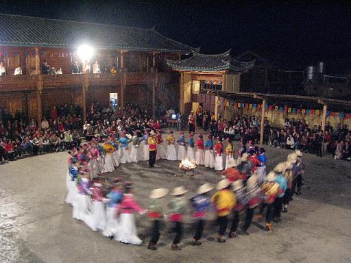 モソ人の踊り