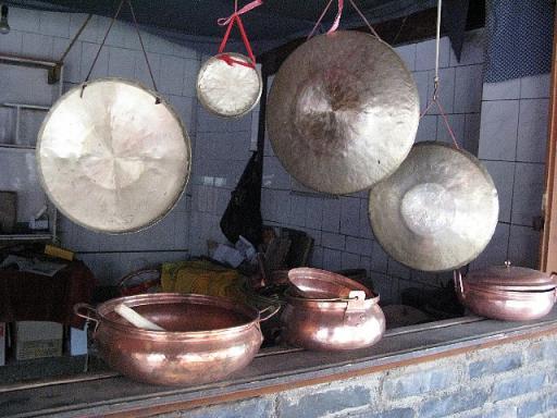 白沙村 銅鍋
