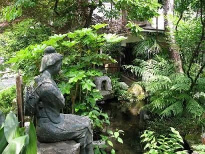 伊豆の踊り子発祥の宿で