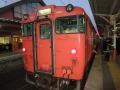 この電車に乗って松江へ
