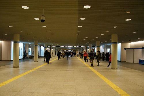 札幌駅前地下歩行空間