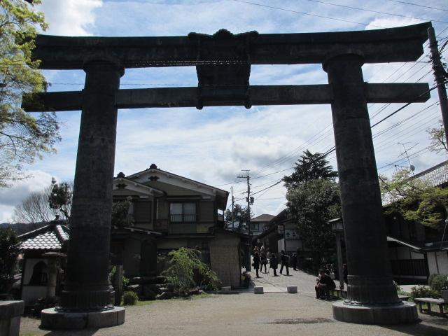 七曲り坂~金峯山寺銅鳥居(銅鳥居)3