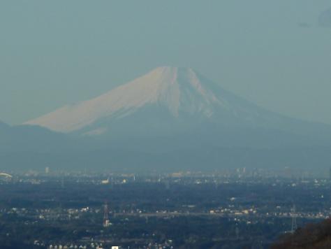 2010年12月 表筑波からの富士山(大)