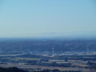 2011-01-08 御亭山からの富士山(少しズーム)