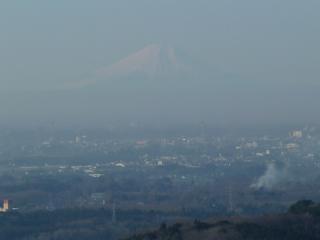 2011-01-05 富谷山からの富士山