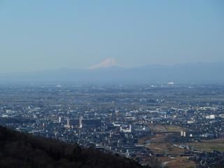 2011-03-05 唐沢山からの富士山