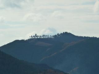 アップルライン 稲荷山付近から撮影