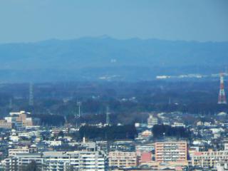 茨城県庁からの尺丈山