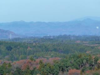大鍋山からの尺丈山