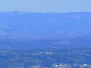 羽黒山からの尺丈山
