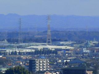 宇都宮タワーからの尺丈山?
