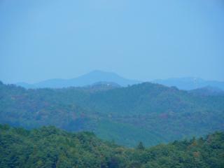権現山からの南山