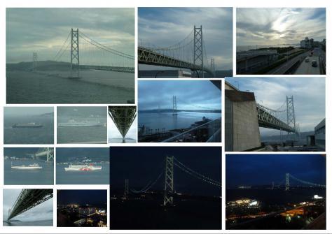 2011年6月 明石海峡大橋