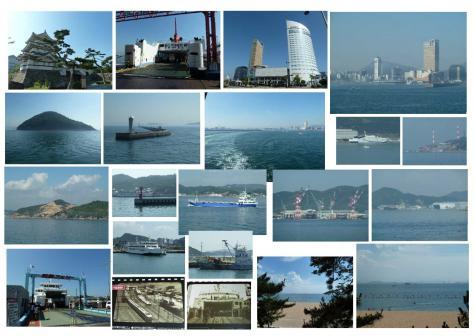 2011年6月 高松港~宇野港