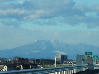 真岡IC付近からの高原山