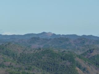 三王山からの尺丈山