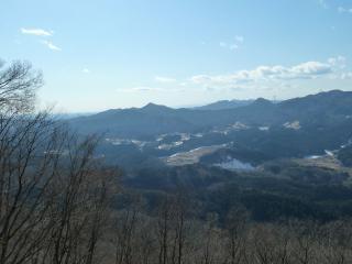 羽黒山 富士見台からの風景