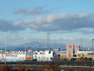上三川付近からの高原山