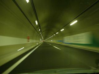 茨城・栃木県境のトンネル