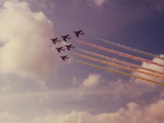 1977年 ブルーインパルス F86