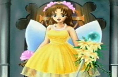 サフラン・ウエディングドレス