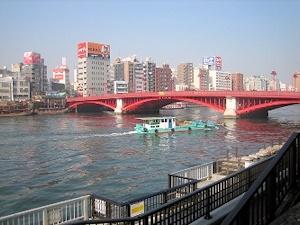 現在の吾妻橋