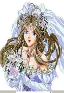 ウエディングドレスのベルダンディー