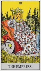 「女帝」のカード