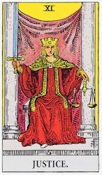 「正義」のカード