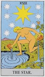 「星」のカード
