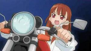 バイクを転がすゴットゥーザ様