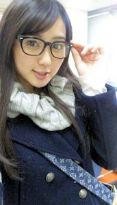 眼鏡っ娘の里穂