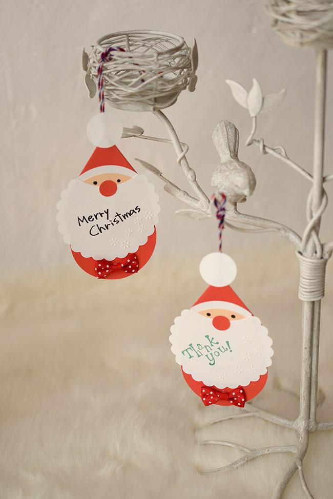 カレンダー クリスマスアドベントカレンダー作り方 : サンタオーナメントとドール ...