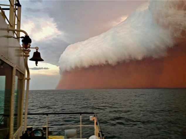 オーストラリア西海岸に「赤い波」が押し寄せる!生理的に無理、怖すぎる