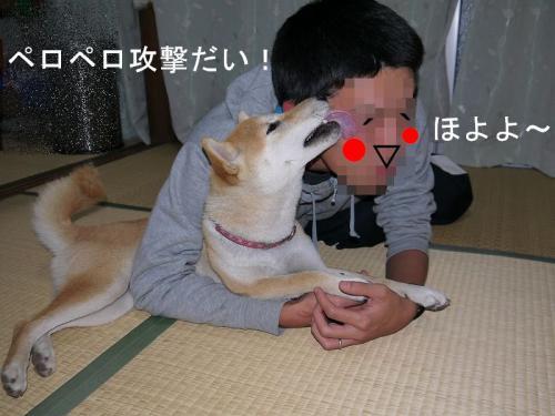 仲良しアピール3