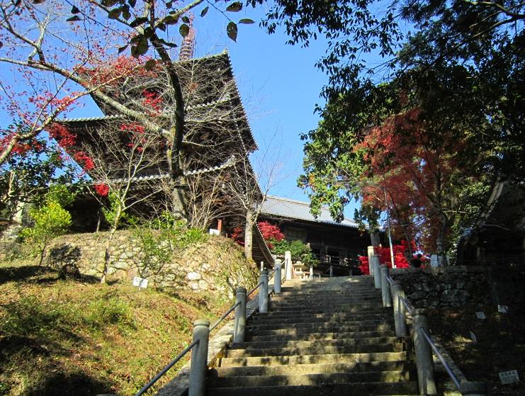 一乗寺三重塔と本堂