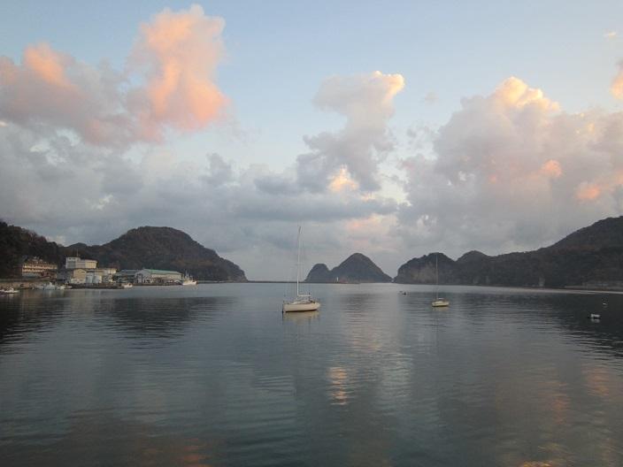柴山漁港の朝