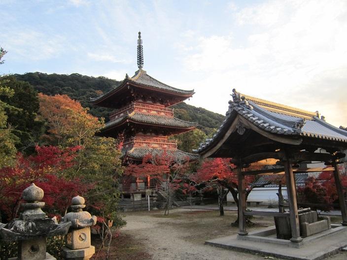 太山寺三重塔2