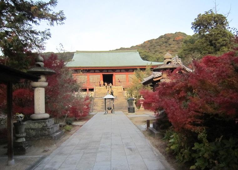 太山寺正面